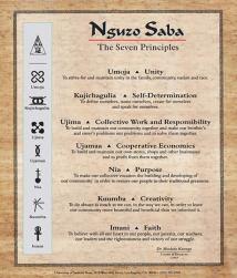 Kwanzaa - NguzoSaba