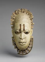 Afrikan Head Art