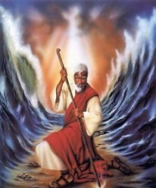 Moses-parting-red-sea-Aaron and Allen Hicks