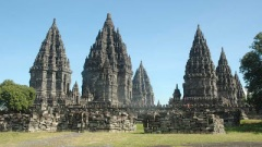 Spires ancient man Pambanan Java mysteries