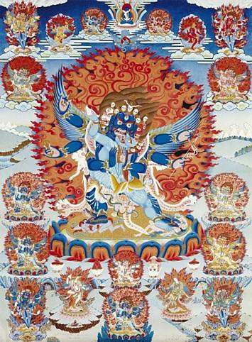 Vajrakilaya - Wrathful Yidam Deity - Wiki