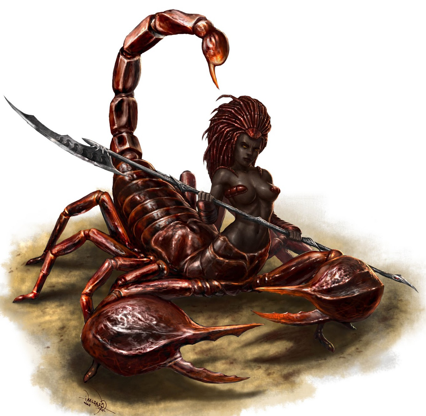 Deep Dark of Scorpio | The Seven Worlds
